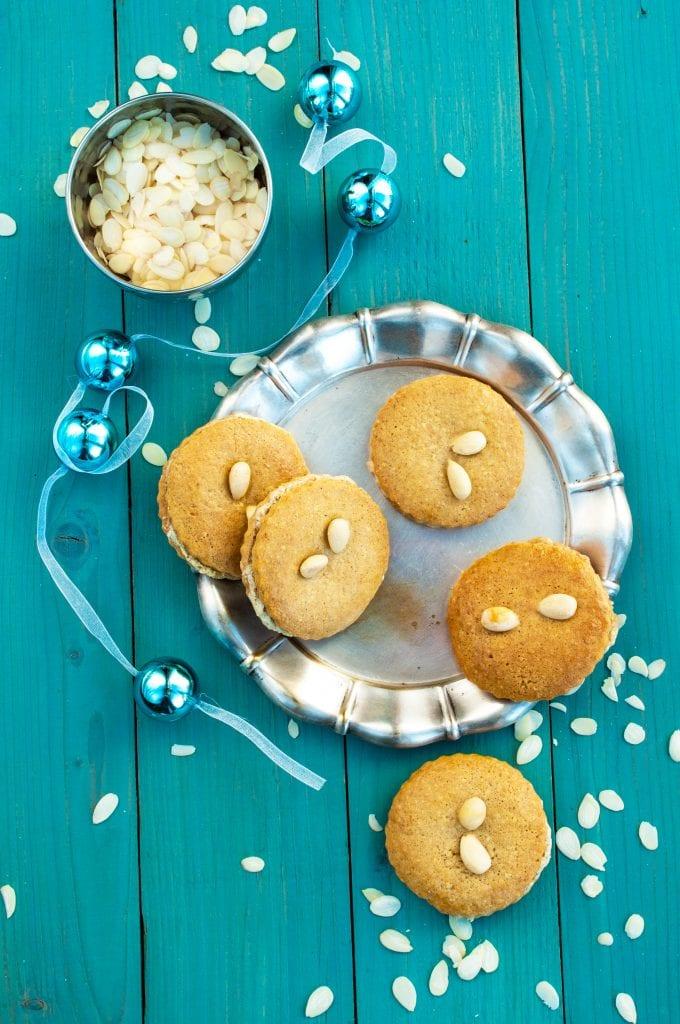 Zdravé vianočné ingrediencie: Plnené medovníky s orechovou plnkou