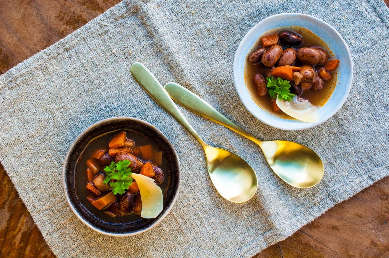 Klasická fazuľová polievka recept
