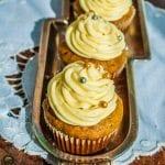 Najlepší recept na mrkvové muffiny s vanilkovým krémom