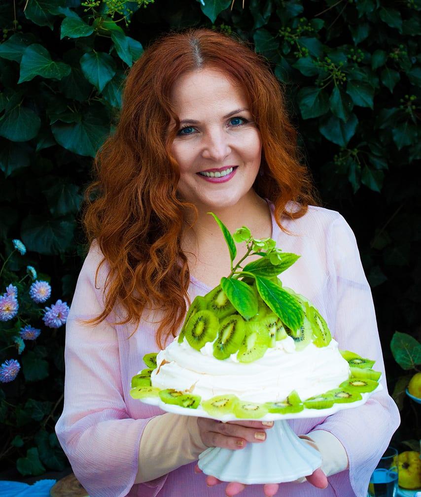 Pravá Pavlovovej torta upečená podľa pôvodnej storočnej receptúry.