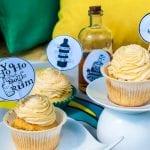 Rumové cupcakes