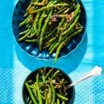 Zelené fazuľky so sezamom