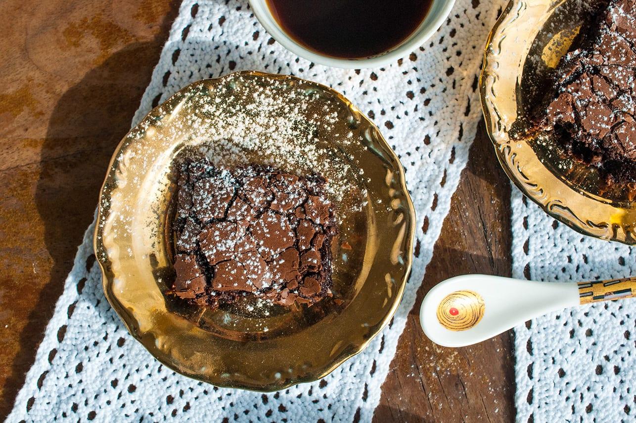 Jednoduché čokoládové brownie recept