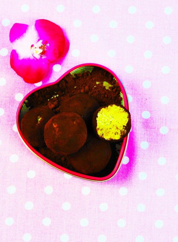 Fit avokádové guľôčky recept