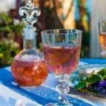 Domáce fialkové víno recept