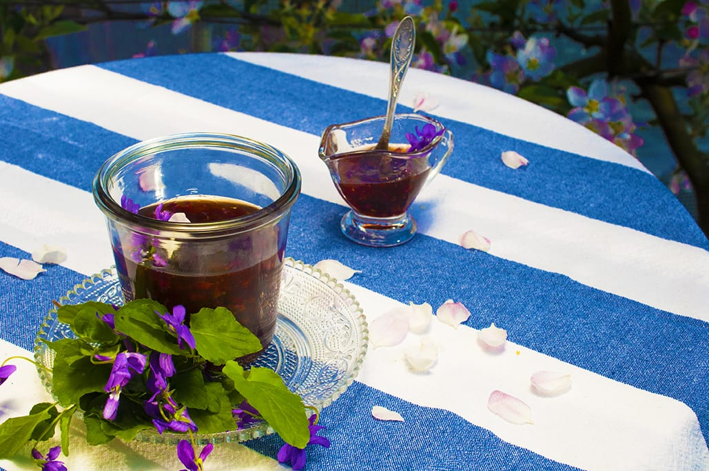 Fialková marmeláda recept