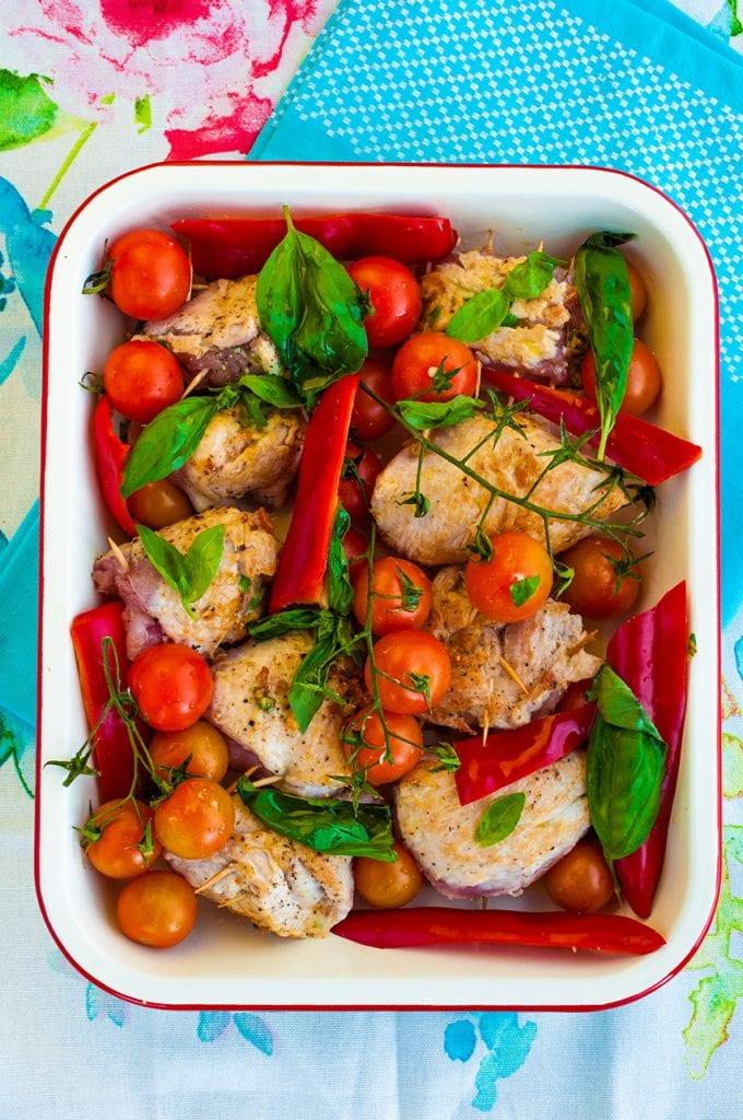 Pečené morčacie mäso s bryndzou recept