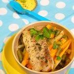 morská ryba s čínskou zeleninou recept