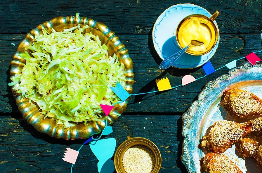 kapustový šalát recept
