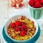 Kukuričná kaša s ovocím recept