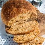 Recept na kváskový chlieb s čili