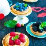 najlepší recept na vanilkové tartaletky