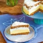 medový krémeš torta recept