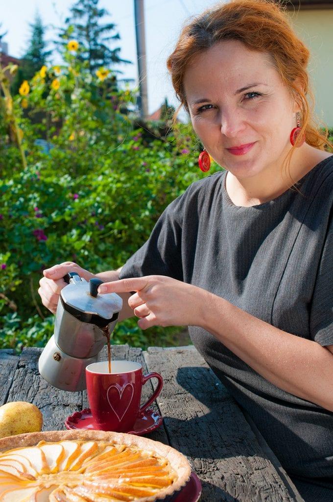 hruškový koláč recept jana štrbková