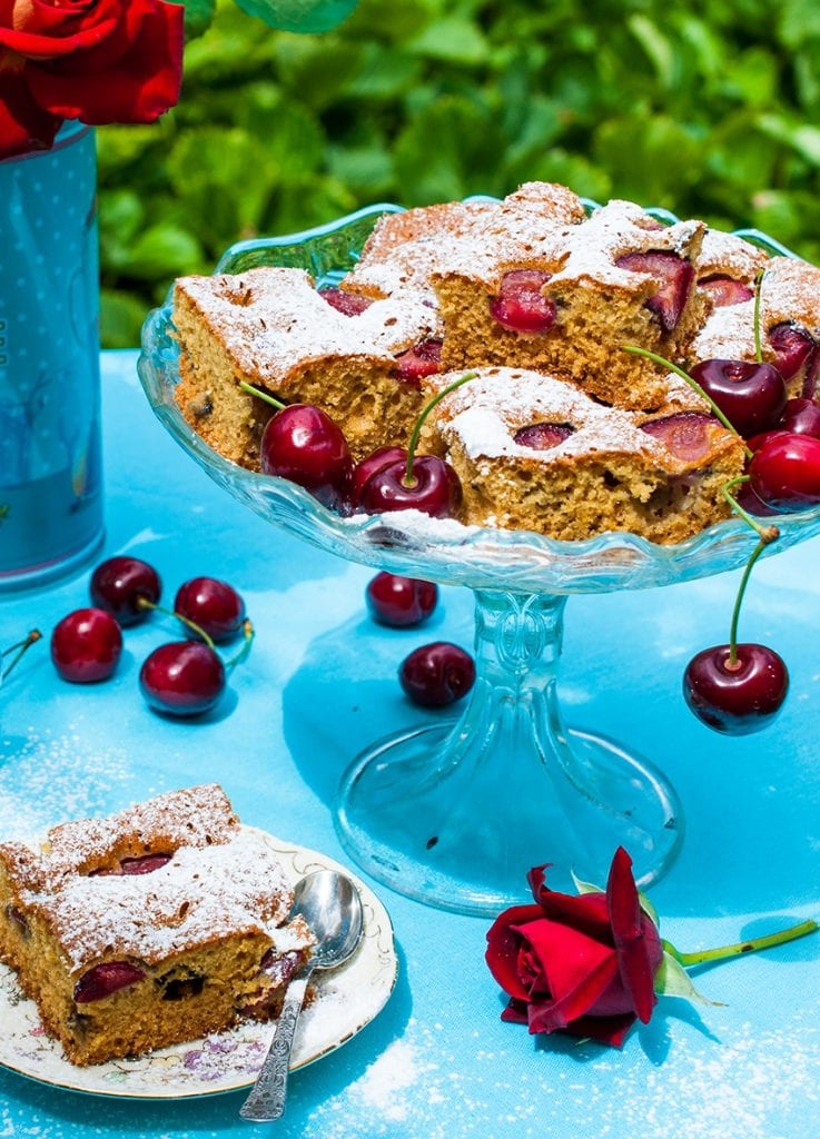 čerešňová bublanina recept