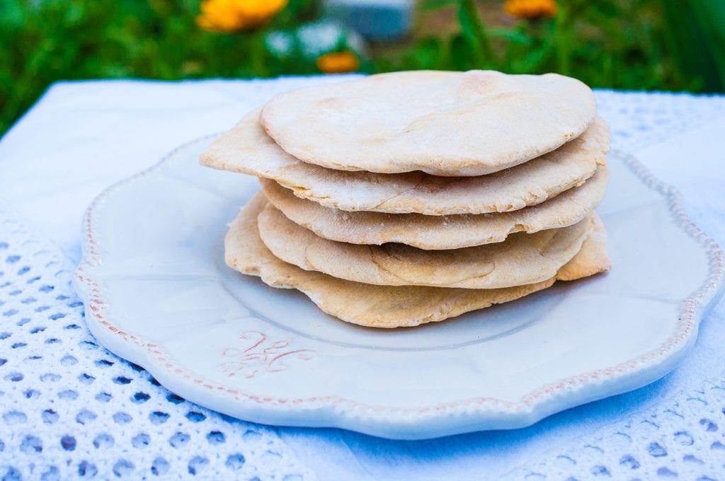 pita chlieb z kvásku recept