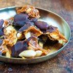 mandle v čokoláde a v karameli recept