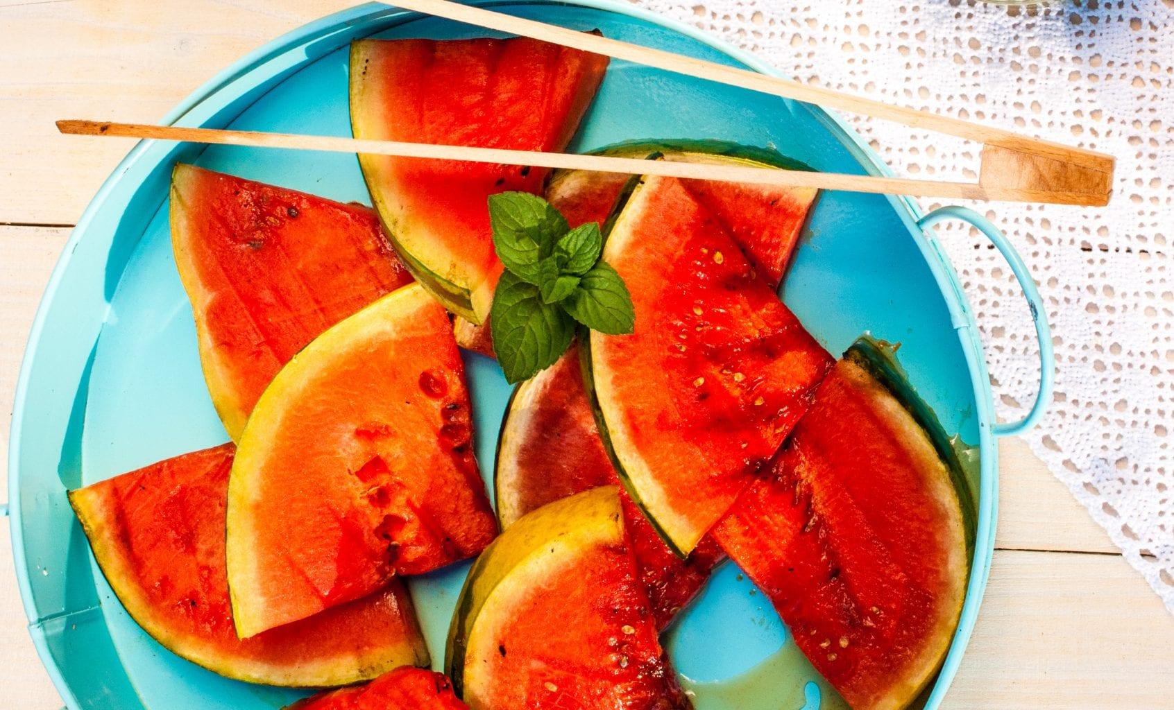 grilovany melon recept
