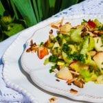 šalát zo stopkového zeleru a jablka recept