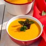mrkvová polievka so zázvorom a medom recept
