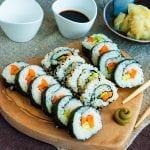 zeleninové sushi recept