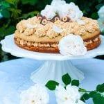 karamelová torta s lieskovcami recept