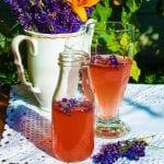 levanduľová limonáda recept