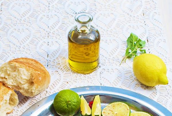 Základom mojej marinády je kvalitný olivový olej.
