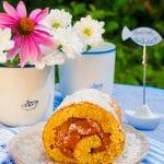 medová roláda s marhuľovým želé recept