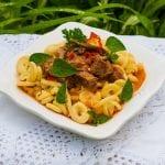 pikantný hovädzí guláš recept