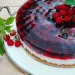 ovocná torta s ricottou a želatínou