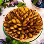 slivkový luxemburgský koláč recept