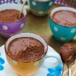 čokoládová pena recept