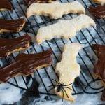 halloweenske linecké koláčiky