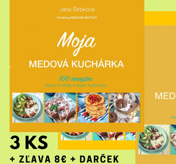 Moja medová kuchárka 3 ks