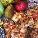 hruškovo - jablkový koláč recept