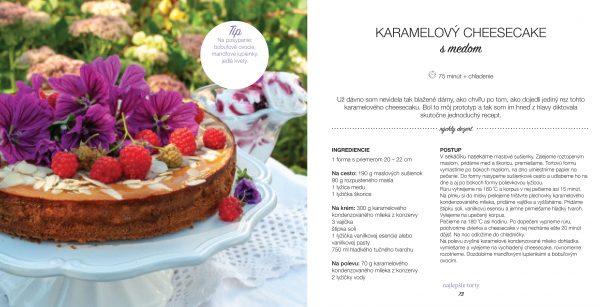 Jana Štrbková: Moja medová kuchárka, karamelový cheesecake