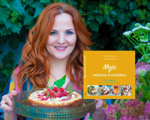 Jana Štrbková: Moja medová kuchárka kniha foodblogu Medové motúzy