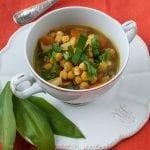 výborná cícerová polievka